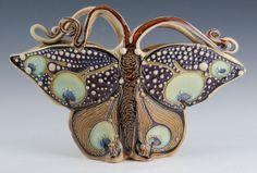 Envelope+Butterfly+Vase+by+CarolLongPottery+on+Etsy,+$475.00