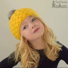 Bandeau tricoté pour bébé en laine pour fille bandeau