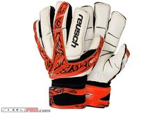 Reusch Keon Deluxe G2 Ortho Tec Goalkeeper Glove - Orange with Black and White...$169.99