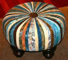Tuffet made in 2 sessions @ Pennington Quilt Works.