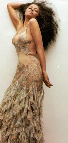 Diana Ross. Phenomenal woman.