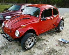 Travis' 1973 Volkswagen Super Beetle Baja