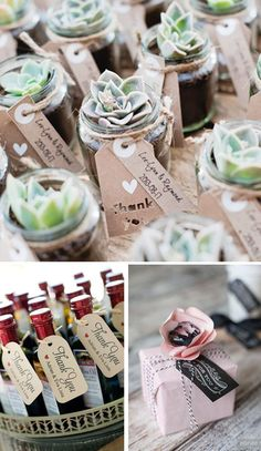 Etiquetas para bodas. Detalles de boda. Wedding Favors #weddingfavors