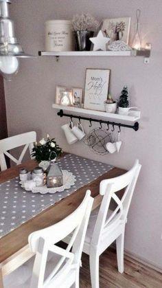 Romantische Küche, pastellfarbene Wand is part of Romantic kitchen - Romantic Kitchen, Shabby Chic Kitchen, Kitchen Decor, Kitchen Design, Diy Kitchen, Kitchen Ideas, Kitchen Images, Shabby Chic Ikea, Kitchen Interior
