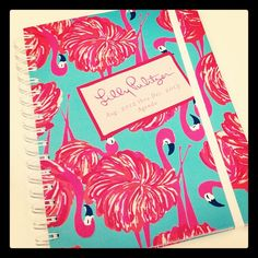 Agendas are HERE! We are loving this Give Me Some Leg flamingo pattern :)