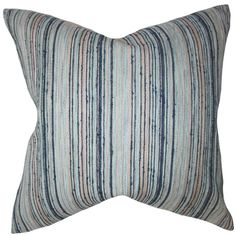 Found it at Wayfair - Bartram Stripes Throw Pillow Cover
