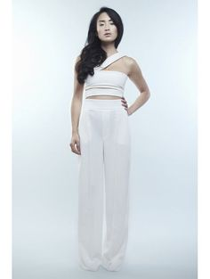 Bomb Product of the Day: Kyna Collection's Arya Black Asymmetric Jumpsuit