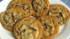 Caramel and chocolate chips? Count us in. These cookies are bound to be a family favorite.