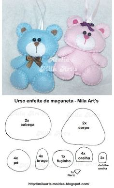 Felt~Bears...