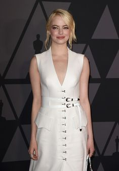 Emma Stone attends the Academy of Motion Picture Arts and Sciences' 9th Annual Governors Awards.