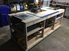Ultimate space saving workbench