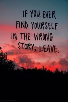 """If you ever find yourself in the wrong story, leave."" - Mo Williams #Quotation"