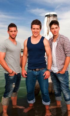 Braxton brothers in Home and Away (Yes, all of them)