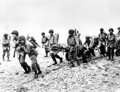 June 23, 1943: U.S. Army reinforcements land on a beach in Attu, Alaska on during World War II. U.S. troops invaded Attu on May 11 to expel the Japanese from the Aleutians. (AP Photo)
