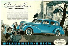 1937 ... Buick aces calculus!, via Flickr. ; Vintage car ad.