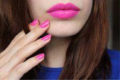 Pretty in pink: nyx shocking pink lipstick Pink Lipsticks, Lipstick Shades, Lipstick Colors, Lip Colors, Coral Lipstick, Matte Lipstick, Bridal Lipstick, Bridal Makeup, Wedding Makeup