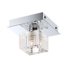 Alico Quatra 1 Light Flush mount In Chrome And