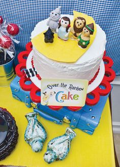 Wizard of Oz Party Kit from double the fun parties Rainbow Birthday Party, Birthday Parties, Birthday Cake, Birthday Ideas, Kid Parties, Theme Parties, 7th Birthday, Beautiful Cakes, Amazing Cakes