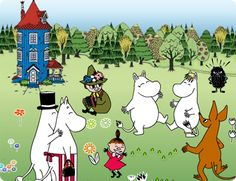 The Happy Moomins