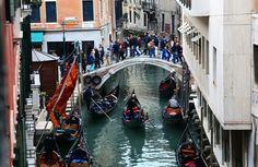 https://flic.kr/p/qW6sDv | 日常生活 Daily life, Daily lives ~ Gondolas , Canal @ Rio de San Moisè  , Venezia