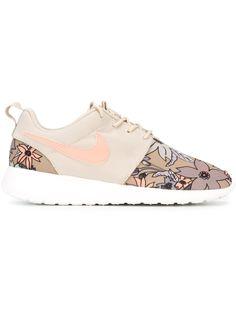 Floral print Nike sneakers #shoes #kicks #activewear