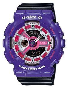 Casio Armbanduhr  BA-110NC-6AER versandkostenfrei, 100 Tage Rückgabe, Tiefpreisgarantie, nur 119,00 EUR bei Uhren4You.de bestellen