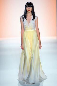 Jenny Packham Spring 2012 RTW from Elle.com