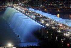 A Ponte Banpo, Seul, Coréia do Sul