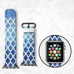 Handmade Apple Watch Strap 38/42mm Twisted BBSW028 by BeeBeeStyle
