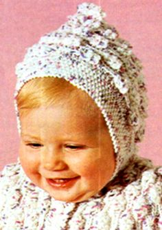 PDF Vintage 1960s Baby Pram Set Knitting by TheAtticofKitsch