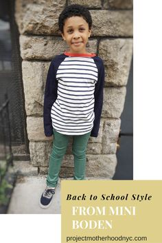 Back to School With Mini Boden {Giveaway