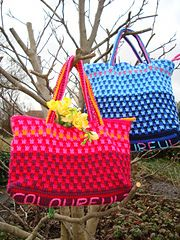 Ravelry: Colourful City Bag pattern by Reimy Johanna Designs