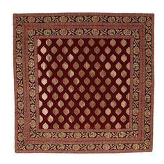 Taie d'oreiller avec fermeture éclair soie indienne décor main 46 x 46 cm ShalinIndia http://www.amazon.fr/dp/B00D04O1VM/ref=cm_sw_r_pi_dp_8ZoZtb02D8TE54PP