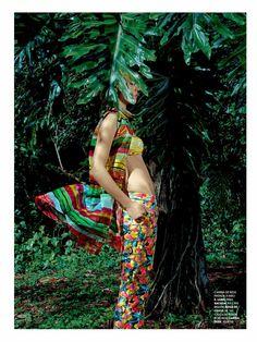 poder tropical: paloma passos by eduardo rezende for marie claire brasil sept 2013