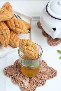 Délices d'Orient: Petits gâteaux pomme de pain au sirop