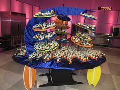 Cupcake Wars Displays | Surf's Up — Cupcake Wars Recap