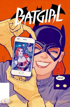 Batgirl #39 cover by Cliff Chiang