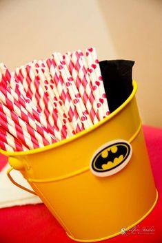 Faith's 5th Batman/Batgirl Party | CatchMyParty.com