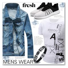 """""""Casual Look :: Men's Wear"""" by jecakns ❤ liked on Polyvore featuring men's fashion and menswear"""