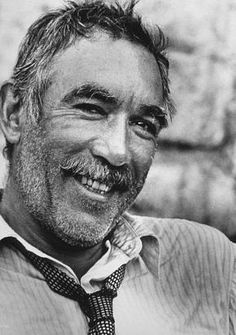"Anthony Quinn born Antonio Rodolfo Quinn Oaxaca in Mexico. Famous roles especially in 1952 film ""Viva Zapata"" & 1964 film ""Zorba the Greek. Golden Age Of Hollywood, Hollywood Stars, Classic Hollywood, Old Hollywood, Zorba The Greek, Tv Star, Photo Star, Anthony Quinn, Cinema Tv"