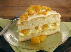 Receita de bolo de abacaxi caramelado