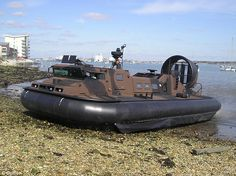 Royal Marines unveil deadly new weapon... an armoured super ... Enlarge hovercraft