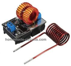 ~ 12 v ZVS Induction Heating Power Supply Module Tesla Jacob's Ladder + Coil Electronics Projects, Consumer Electronics, Diy Electronics, Arduino, Induction Heating, Induction Forge, Esp8266 Wifi, Jacob's Ladder, Montenegro
