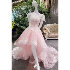 Fitted Prom Dress, 2019 New Arrival Scoop Neckline A-Line Summer Pink Asymmetrical Prom Dresses Lace Up With Appliques, We carry the best designer prom dresses! You find the latest prom fashion styles to make your big night perfect! Fitted Prom Dresses, High Low Prom Dresses, Affordable Prom Dresses, Prom Dresses For Teens, Unique Prom Dresses, Pink Prom Dresses, Plus Size Prom Dresses, Beautiful Prom Dresses, Popular Dresses