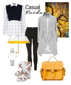 """""""Autmn🍂💛"""" by aicha-13 on Polyvore featuring mode, The Cambridge Satchel Company, Alice + Olivia, Topshop, Miss KG en CLUSE"""