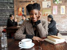 Harlem is Nowhere author Sharifa Rhodes-Pitts at Society Coffee in Harlem. Featured on the beautiful harlemcollective. Natural Afro Hairstyles, Pretty Hairstyles, Natural Hair Care, Natural Hair Styles, Afro Textured Hair, I Love Ny, Going Natural, We Are The World, Hair Blog