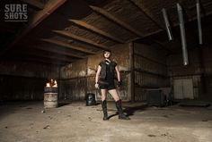 Sure Shot Brenna in Issue 12 of Sure Shots Magazine (Photo by Dustin Meyer)  www.sureshotsmag.com