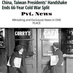 #China #Taiwan end #ColdWar Pvt. News  http://ift.tt/1CeNjph #PvtNews Or Google #PvtNews