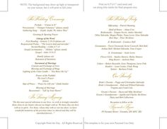 16 best catholic wedding programs images wedding ideas engagement
