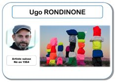 Ugo Rondinone - Portrait d'artiste Plus Middle School Art, Art School, High School, Art Montessori, Ugo Rondinone, Art Worksheets, Ecole Art, Oeuvre D'art, Oeuvres